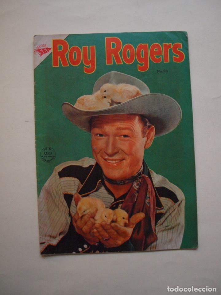 ROY ROGERS Nº 26 - NOVARO - SEA - 1954 (Tebeos y Comics - Novaro - Roy Roger)