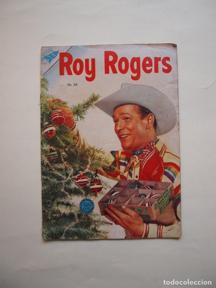 ROY ROGERS Nº 28 - NOVARO - SEA - 1954 (Tebeos y Comics - Novaro - Roy Roger)