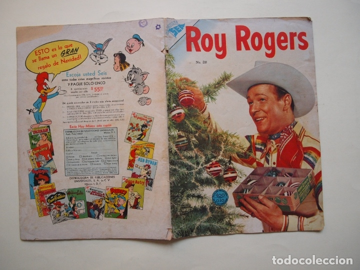 Tebeos: ROY ROGERS Nº 28 - NOVARO - SEA - 1954 - Foto 7 - 180881760