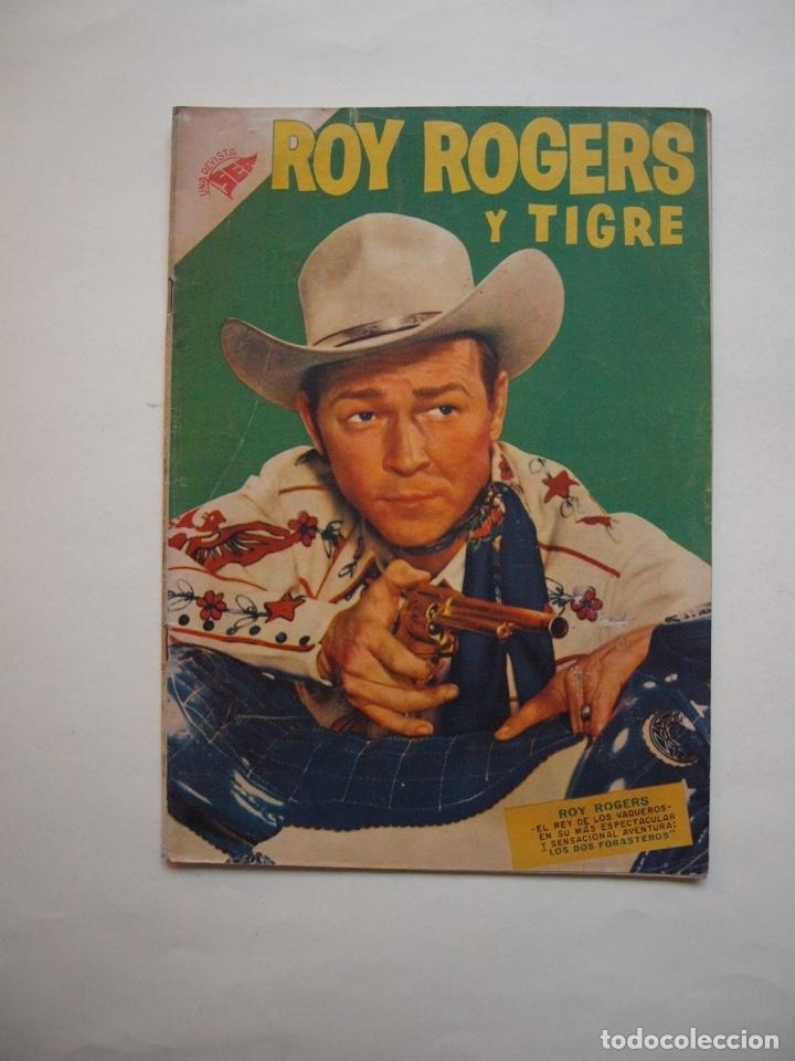 ROY ROGERS Y TIGRE Nº 48 - NOVARO - SEA - 1956 (Tebeos y Comics - Novaro - Roy Roger)