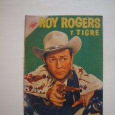 Tebeos: ROY ROGERS Y TIGRE Nº 48 - NOVARO - SEA - 1956. Lote 180882826