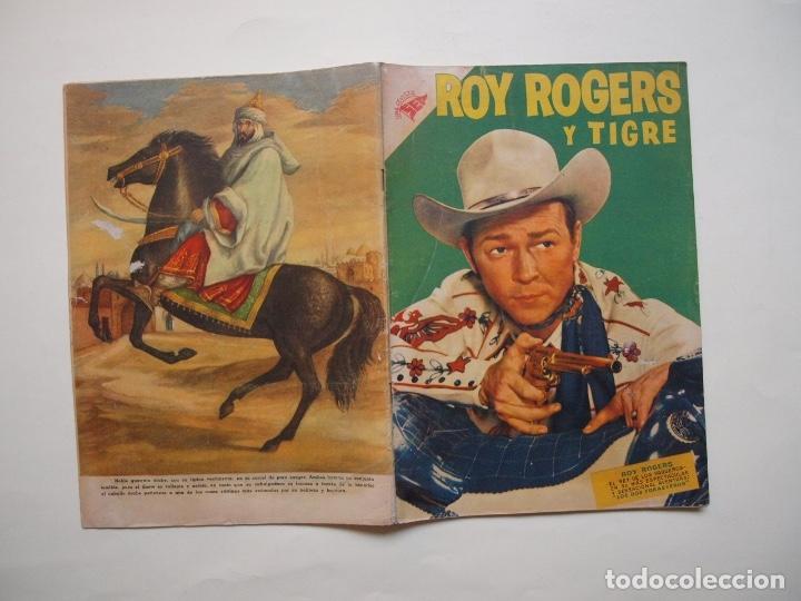 Tebeos: ROY ROGERS Y TIGRE Nº 48 - NOVARO - SEA - 1956 - Foto 8 - 180882826