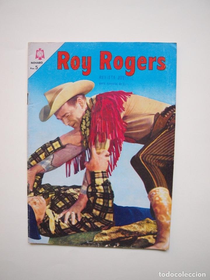 ROY ROGERS Nº 163 - NOVARO - 1966 (Tebeos y Comics - Novaro - Roy Roger)
