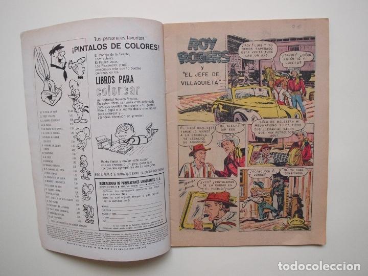 Tebeos: ROY ROGERS Nº 163 - NOVARO - 1966 - Foto 2 - 180884562