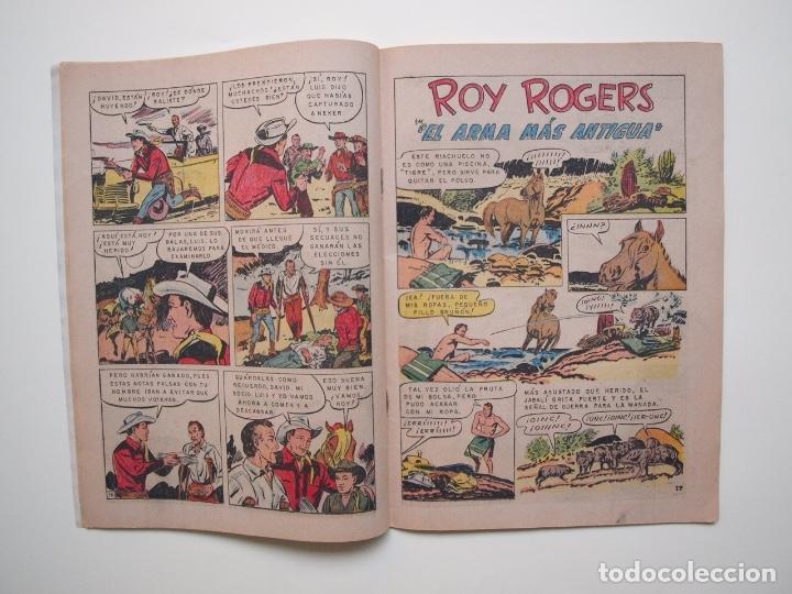 Tebeos: ROY ROGERS Nº 163 - NOVARO - 1966 - Foto 3 - 180884562