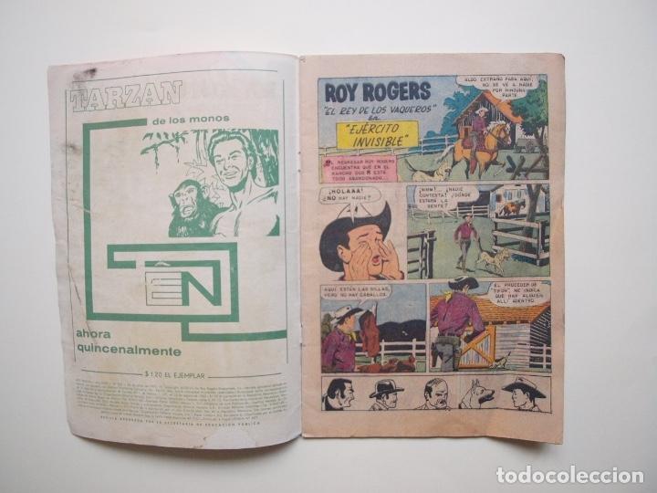 Tebeos: ROY ROGERS Nº 222 - NOVARO - 1970 - Foto 2 - 180887765