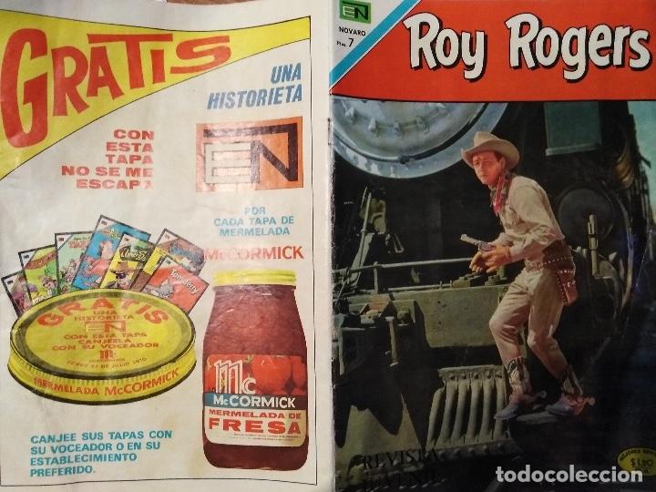 Tebeos: ROY ROGERS Nº 222 - NOVARO - 1970 - Foto 5 - 180887765