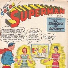 Livros de Banda Desenhada: COMIC COLECCION SUPERMAN Nº 316 EDITORIAL MUCHNIK. Lote 180950392