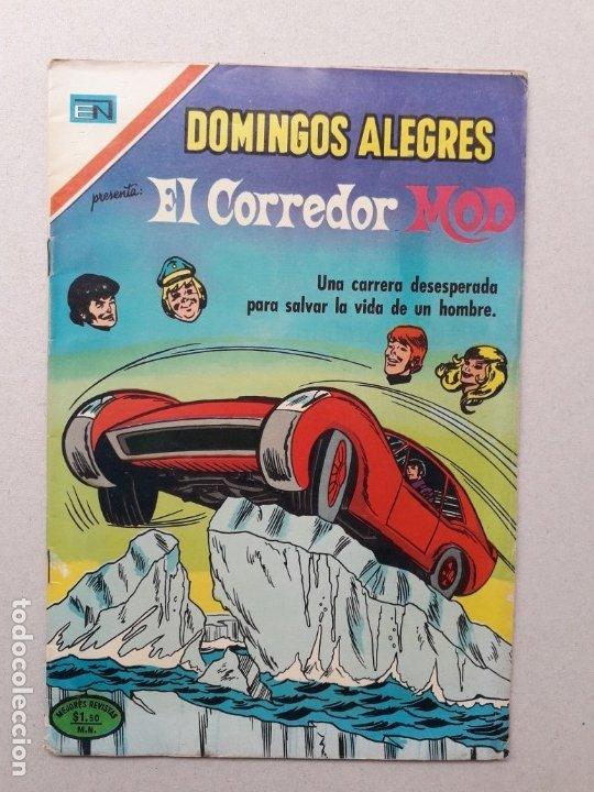DOMINGOS ALEGRES N° 923 - EL CORREDOR MOD - ORIGINAL EDITORIAL NOVARO (Tebeos y Comics - Novaro - Domingos Alegres)