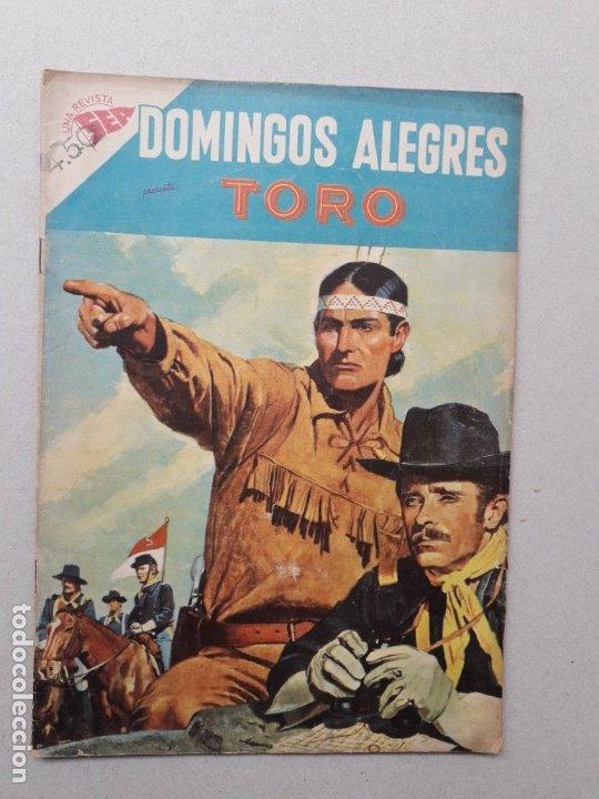 DOMINGOS ALEGRES N° 246 - TORO - ORIGINAL EDITORIAL NOVARO (Tebeos y Comics - Novaro - Domingos Alegres)