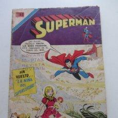 Livros de Banda Desenhada: SUPERMAN - Nº 953 – 27 FEBRERO 1974 - NOVARO. CX27. Lote 181395690