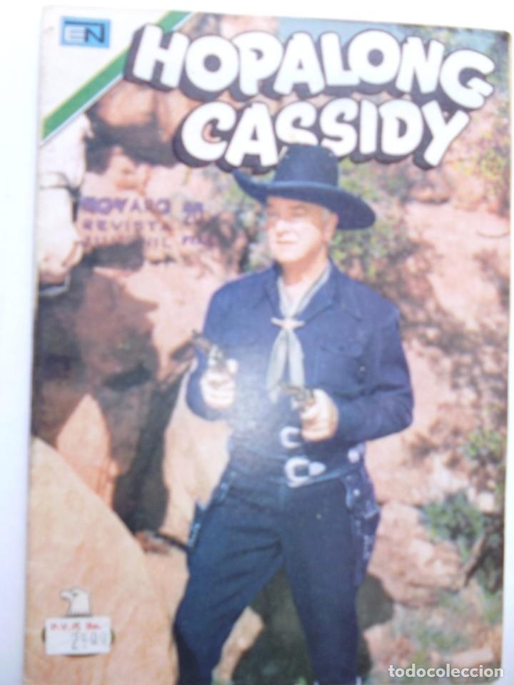 Tebeos: HOPALONG CASSIDY - LOTE DE 6 CÓMICS - SERIE AGUILA- ORIGINALES DE EDITORIAL NOVARO MEXICO - Foto 2 - 181486970