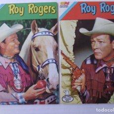 Tebeos: ROY ROGERS - LOTE DE 18 CÓMICS - SERIE AGUILA- ORIGINALES DE EDITORIAL NOVARO MEXICO. Lote 181490682