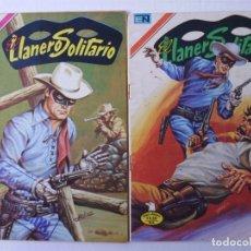 Tebeos: EL LLANERO SOLITARIO - LOTE DE 21 CÓMICS -SERIE AGUILA- ORIGINALES DE EDITORIAL NOVARO MEXICO. Lote 181494002