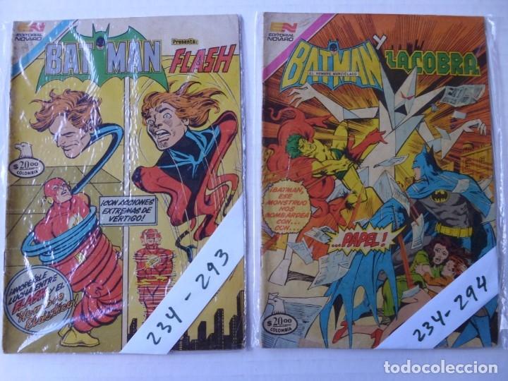 Tebeos: BATMAN - LOTE DE 9 CÓMICS - SERIE AGUILA - EDITORIAL NOVARO EPUCOL COLOMBIA - Foto 4 - 181522698