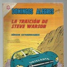 Tebeos: DOMINGOS ALEGRES 599, NÚMERO EXTRAORDINARIO, 1965, NOVARO, BUEN ESTADO. Lote 181715402