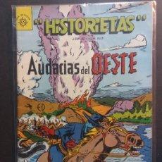 Tebeos: HISTORIETAS AUDACIAS DEL OESTE Nº 503 NOVARO AÑO 1962. Lote 181941690