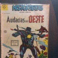 Tebeos: HISTORIETAS AUDACIAS DEL OESTE Nº 606 NOVARO AÑO 1962. Lote 181942087