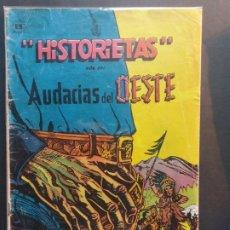 Tebeos: HISTORIETAS AUDACIAS DEL OESTE Nº 691 NOVARO AÑO 1962. Lote 181942243