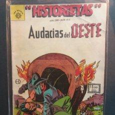 Tebeos: HISTORIETAS AUDACIAS DEL OESTE Nº 612 NOVARO AÑO 1962. Lote 181942451