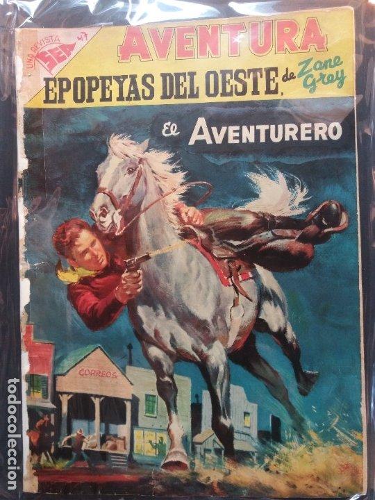 AVENTURA-Nº 47- NOVARO (Tebeos y Comics - Novaro - Aventura)