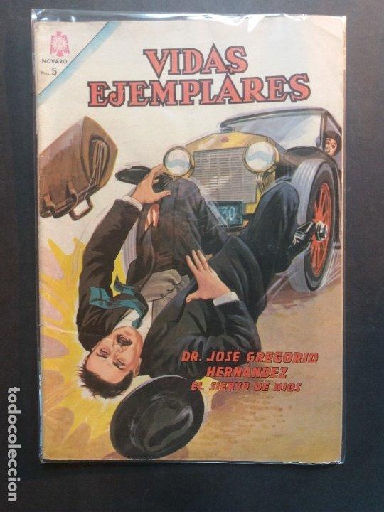 VIDAS EJEMPLARES Nº 192 NOVARO (Tebeos y Comics - Novaro - Vidas ejemplares)