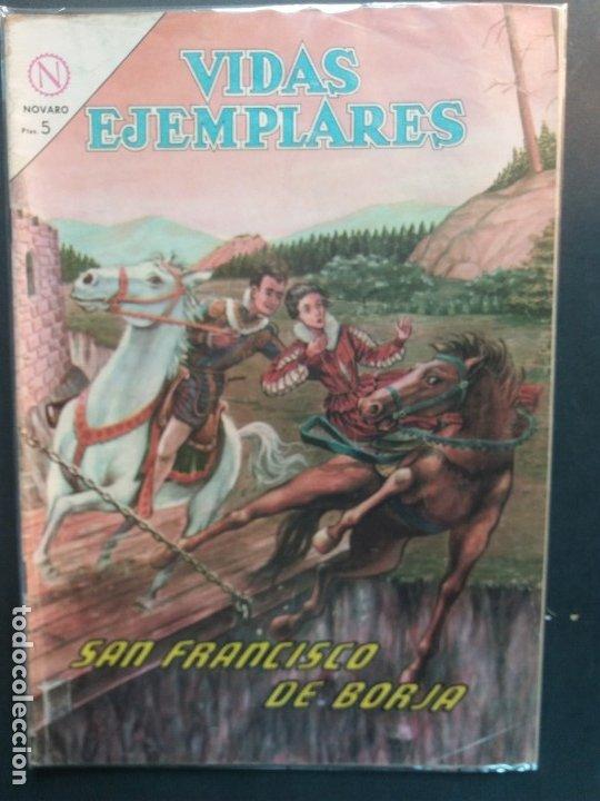 VIDAS EJEMPLARES Nº 169 NOVARO (Tebeos y Comics - Novaro - Vidas ejemplares)