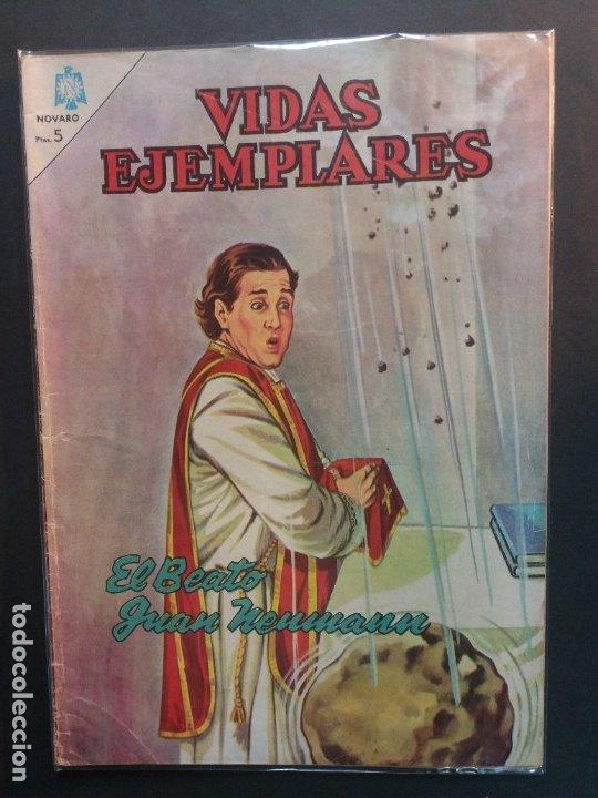VIDAS EJEMPLARES Nº 184 NOVARO (Tebeos y Comics - Novaro - Vidas ejemplares)