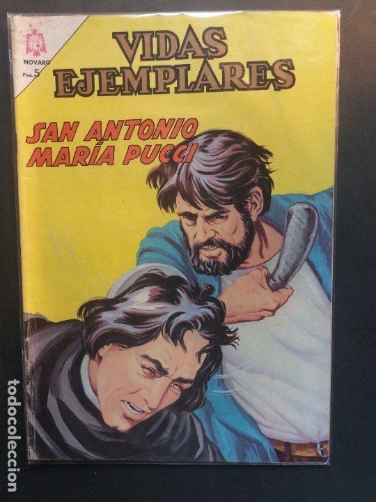 VIDAS EJEMPLARES Nº 204 NOVARO (Tebeos y Comics - Novaro - Vidas ejemplares)