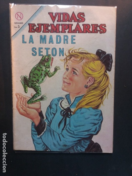 VIDAS EJEMPLARES Nº 172 NOVARO (Tebeos y Comics - Novaro - Vidas ejemplares)
