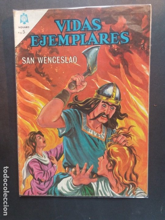 VIDAS EJEMPLARES Nº 178 NOVARO (Tebeos y Comics - Novaro - Vidas ejemplares)