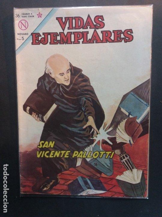 VIDAS EJEMPLARES Nº 186 NOVARO (Tebeos y Comics - Novaro - Vidas ejemplares)