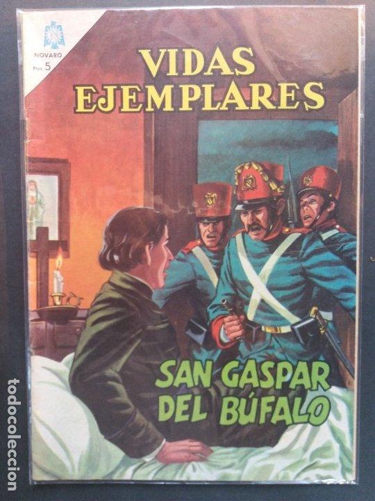 VIDAS EJEMPLARES Nº 182 NOVARO (Tebeos y Comics - Novaro - Vidas ejemplares)