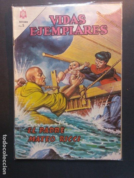 VIDAS EJEMPLARES Nº 207 NOVARO (Tebeos y Comics - Novaro - Vidas ejemplares)
