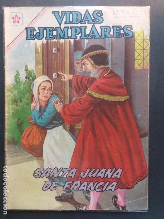 VIDAS EJEMPLARES Nº 134 NOVARO (Tebeos y Comics - Novaro - Vidas ejemplares)