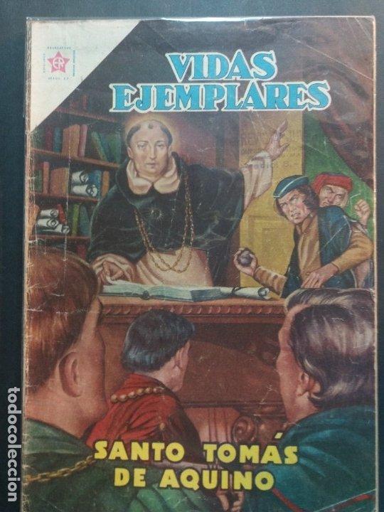VIDAS EJEMPLARES Nº 121 NOVARO (Tebeos y Comics - Novaro - Vidas ejemplares)