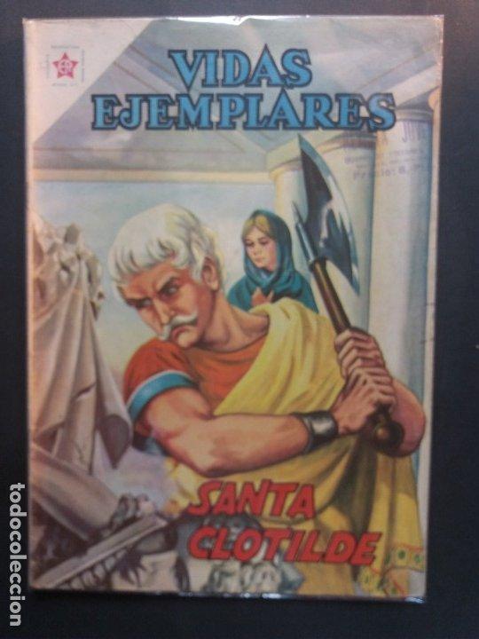 VIDAS EJEMPLARES Nº 124 NOVARO (Tebeos y Comics - Novaro - Vidas ejemplares)