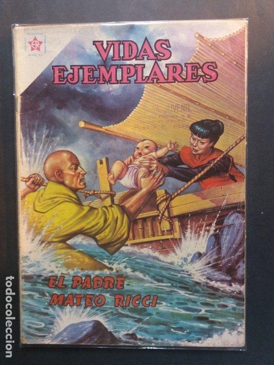 VIDAS EJEMPLARES Nº 98 NOVARO (Tebeos y Comics - Novaro - Vidas ejemplares)