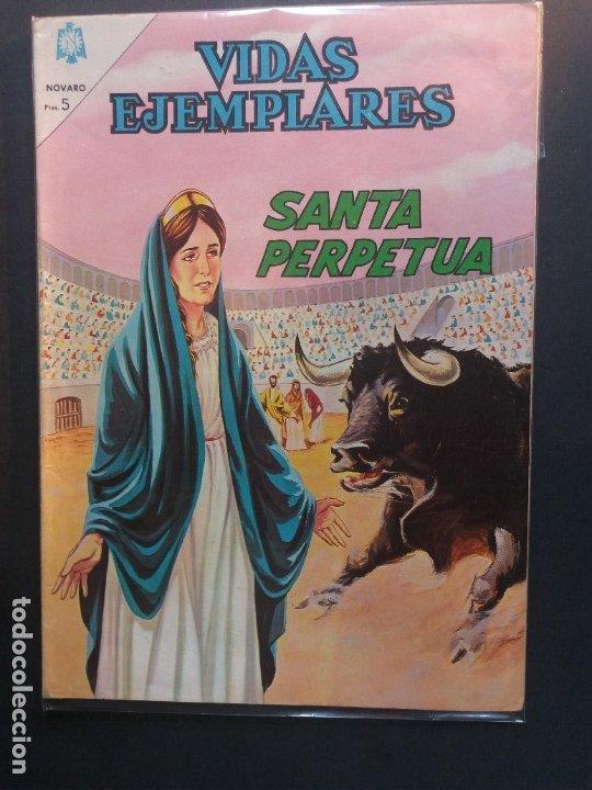 VIDAS EJEMPLARES Nº 200 NOVARO (Tebeos y Comics - Novaro - Vidas ejemplares)