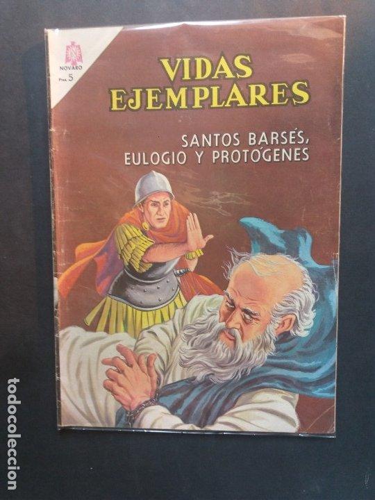 VIDAS EJEMPLARES Nº 198 NOVARO (Tebeos y Comics - Novaro - Vidas ejemplares)