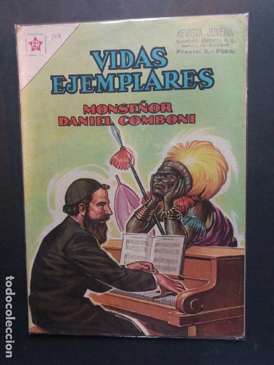 VIDAS EJEMPLARES Nº 144 NOVARO (Tebeos y Comics - Novaro - Vidas ejemplares)