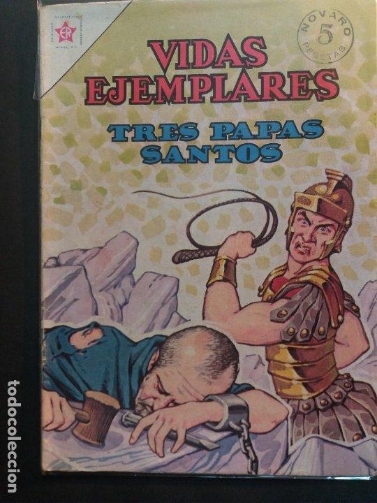VIDAS EJEMPLARES Nº 152 NOVARO (Tebeos y Comics - Novaro - Vidas ejemplares)
