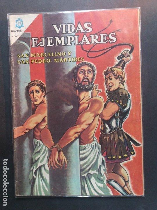 VIDAS EJEMPLARES Nº 190 NOVARO (Tebeos y Comics - Novaro - Vidas ejemplares)
