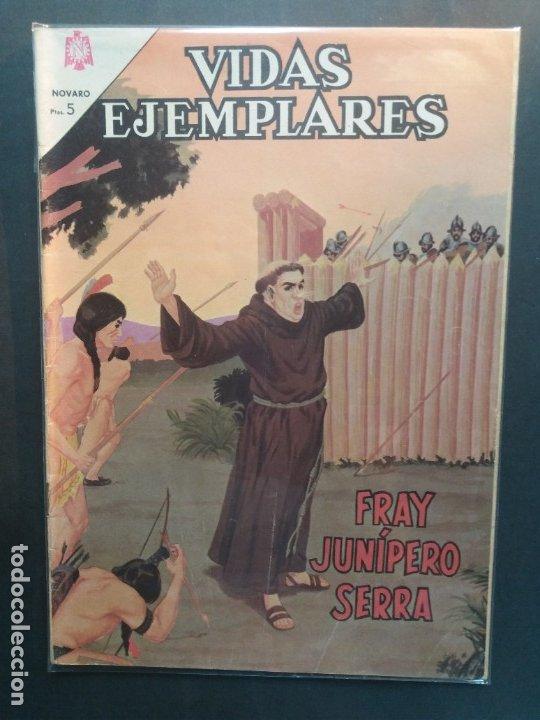 VIDAS EJEMPLARES Nº 199 NOVARO (Tebeos y Comics - Novaro - Vidas ejemplares)
