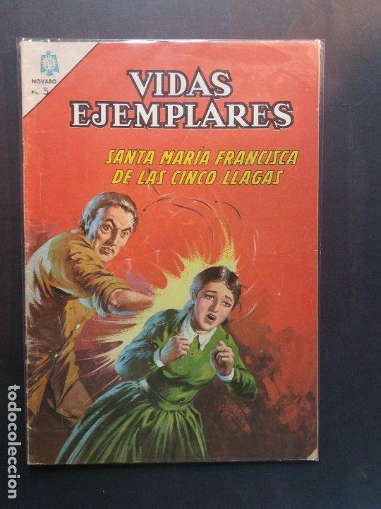 VIDAS EJEMPLARES Nº 224 NOVARO (Tebeos y Comics - Novaro - Vidas ejemplares)