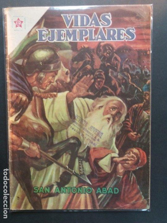 VIDAS EJEMPLARES Nº 131 NOVARO (Tebeos y Comics - Novaro - Vidas ejemplares)