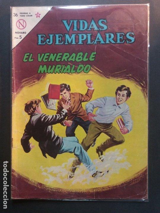 VIDAS EJEMPLARES Nº 164 NOVARO (Tebeos y Comics - Novaro - Vidas ejemplares)