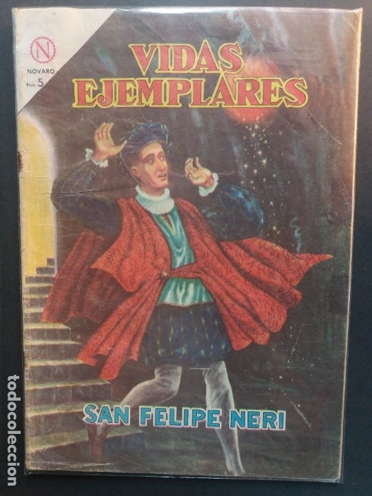 VIDAS EJEMPLARES Nº 171 NOVARO (Tebeos y Comics - Novaro - Vidas ejemplares)