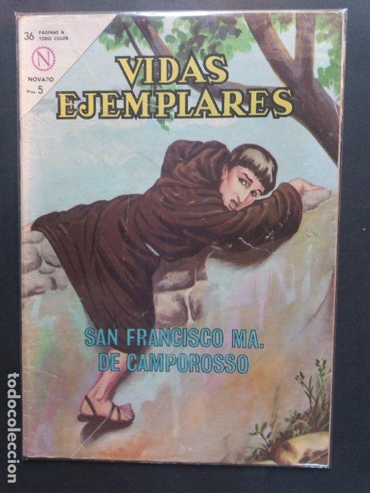 VIDAS EJEMPLARES Nº 168 NOVARO (Tebeos y Comics - Novaro - Vidas ejemplares)