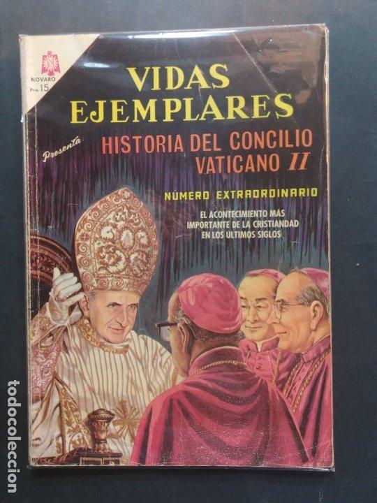 VIDAS EJEMPLARES EXTRAORDINARIO NOVARO (Tebeos y Comics - Novaro - Vidas ejemplares)